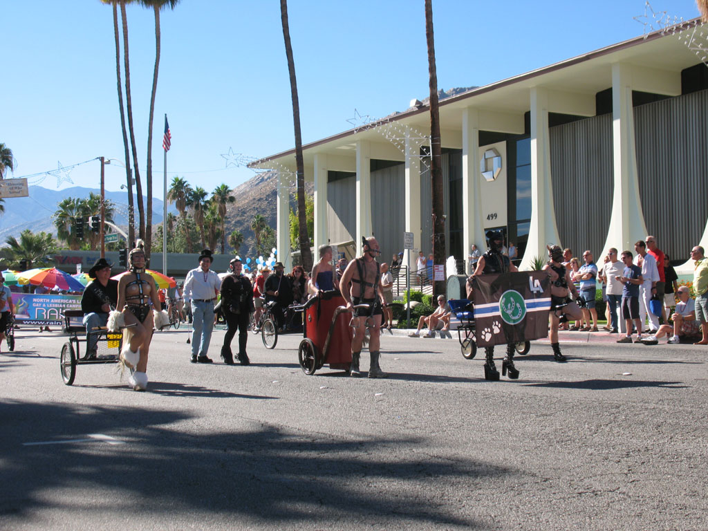 Los Angeles Pony and Critter Club, Palm Springs Pride Parade