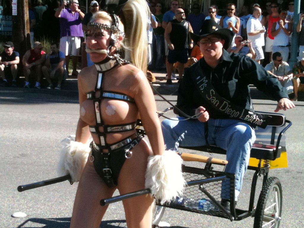 Tiger SD and Beauty, Palm Springs Pride Parade