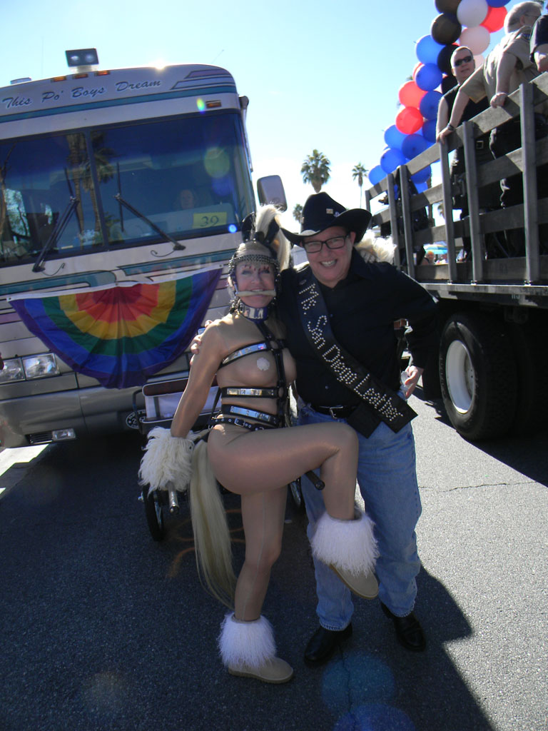 2TigerSD and Beauty, Palm Springs Pride Parade