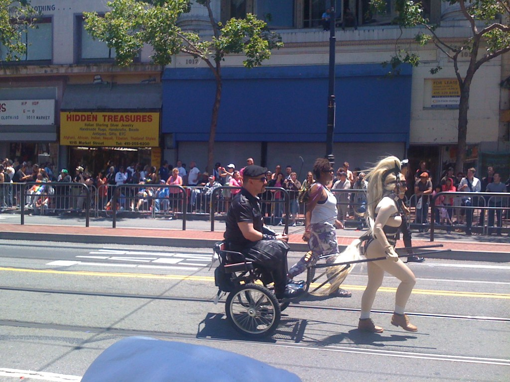 Madoc and Beauty, SF pride Parade 2010