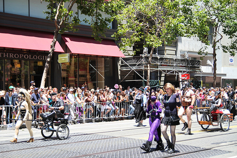 Beauty and Ponygirl Azalea, SF Pride Parade 2010