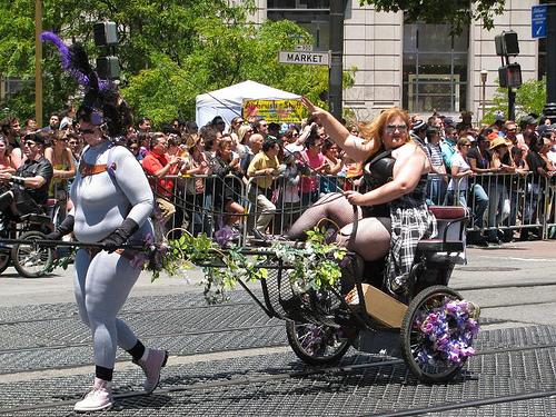 Tindala and Miss Vonn, SF Pride Parade 2010